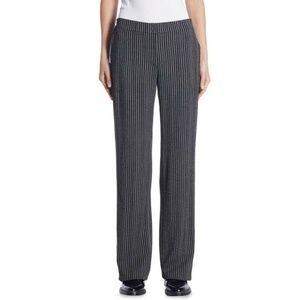 Akris Punto Herringbone Wool Straight-Cut Pants